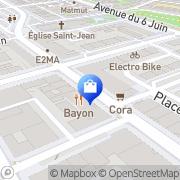 Carte de Pizza Guetti Caen, France