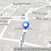 Carte de de Neuville Bressuire, France