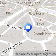 Carte de Anne Fontaine Bordeaux, France