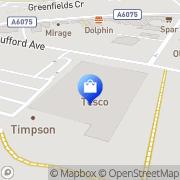 Map F&F Clothing Newark, United Kingdom