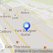 Map York Designer Outlet York, United Kingdom