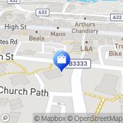 Map Clarks Shoes Gosport, United Kingdom