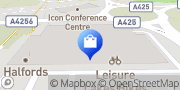 Map B&M Store Northamptonshire, United Kingdom