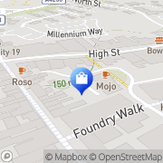Map Clarks Shoes Daventry, United Kingdom