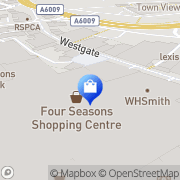 Map JD Sports Mansfield, United Kingdom
