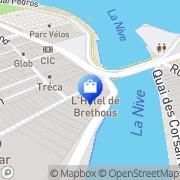 Carte de Adrenaline Shop Bayonne, France