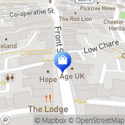 Map Clarks Shoes Chester-le-Street, United Kingdom
