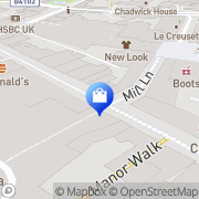 Map Clarks Shoes Solihull, United Kingdom