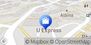 Carte de U Express Le Rheu, France