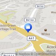 Map Wilko Acocks Green, United Kingdom