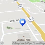 Map Verizon Authorized Retailer – Russell Cellular Midland, United States