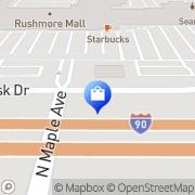 Map Verizon Wireless Rapid City, United States