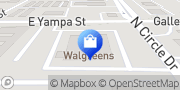 Map Walgreens Colorado Springs, United States