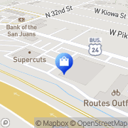 Map Walgreens Colorado Springs, United States