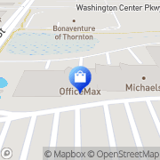 Map OfficeMax Thornton, United States