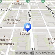 Map Five & Dime Denver, United States