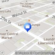 Map Larimer Exchange Denver, United States