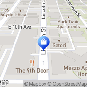 Map Aviano Coffee Denver, United States