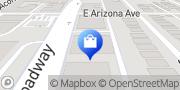 Map Time Capsule Framing Denver, United States