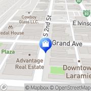 Map Music Box Laramie, United States