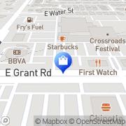 Map Verizon Authorized Retailer – Cellular Sales Tucson, United States