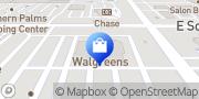 Map Walgreens Tempe, United States