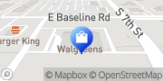 Map Walgreens Phoenix, United States