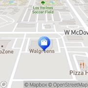 Map Walgreens Phoenix, United States