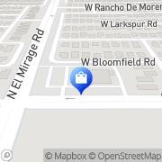 Map Walgreens El Mirage, United States