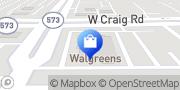 Map Walgreens North Las Vegas, United States