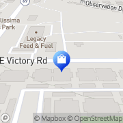 Map VICTORY GREENS Meridian, United States