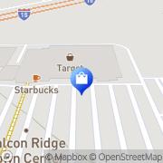 Map Target Fontana, United States