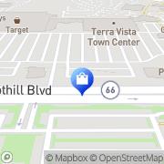 Map Mervyns Rancho Cucamonga, United States