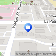 Map Walgreens La Palma, United States