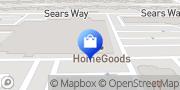 Map HomeGoods Pasadena, United States