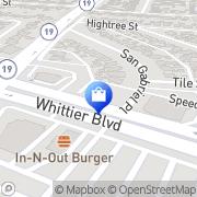 Map AT&T Store Pico Rivera, United States