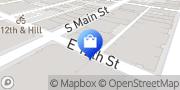 Map Fashion Lanes Los Angeles, United States