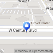 Map Alltel Los Angeles, United States