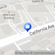 Map Mervyns Bakersfield, United States
