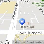 Map Vapor Forrest Port Hueneme, United States