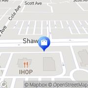 Map Sears Portrait Studio Clovis, United States