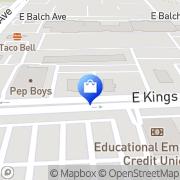 Map Aztek Cellular Fresno, United States