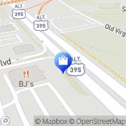 Map Williams-Sonoma Reno, United States