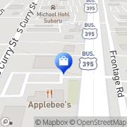 Map Northern Nevada Appliance Outlet Carson City, United States
