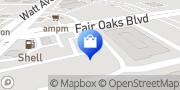 Map Arden Park Florist & Gift Gallery Sacramento, United States
