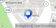 Map Walgreens Seaside, United States