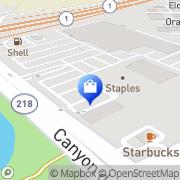 Map Kmart Seaside, United States