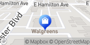 Map Walgreens Campbell, United States