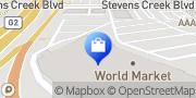 Map Cost Plus World Market San Jose, United States
