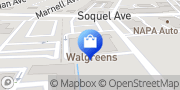 Map Walgreens Santa Cruz, United States
